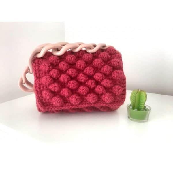 Чанта бижу - 100% ръчна изработка чанта Балончета
