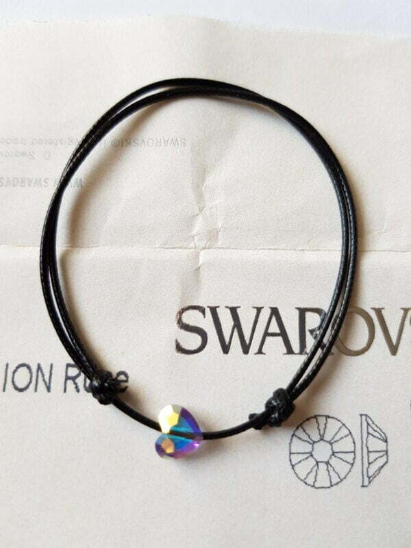 Гривна с кристал Сваровски