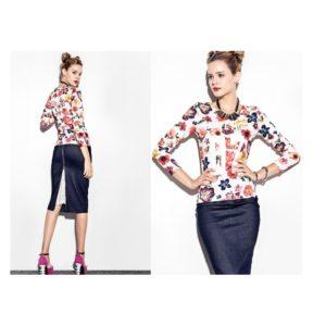 Флорална блузка