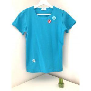 Тениска Копчета