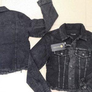 Късо дънково яке