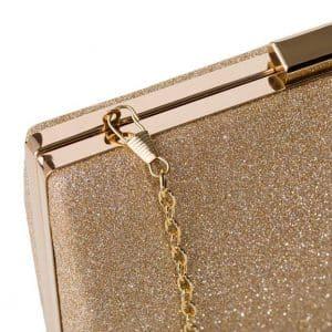 Златна вечерна чанта, клъч