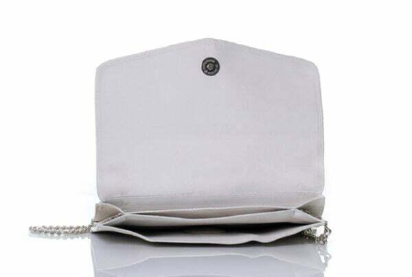 Малка чанта, тип клъч от естествена кожа