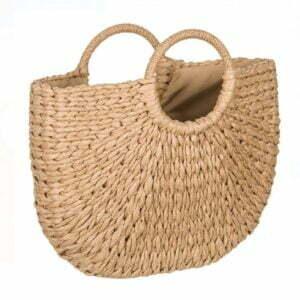 Плетена чанта от ратан